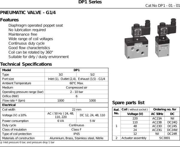 solenoid_valve_tech_specification